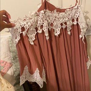 Forever 21 Dresses - Off the shoulder Dress